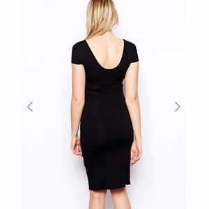 ASOS Maternity Dresses - MY FAVE!! ASOS Maternity Dress Sweetheart Neck